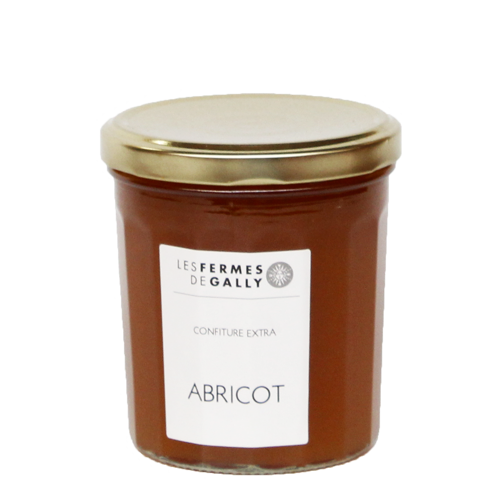 Pot de Confiture d'Abricots de Gally - 375g