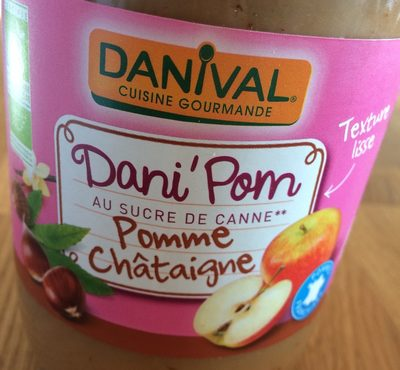 PUREE POMME & CHATAIGNE - 700G