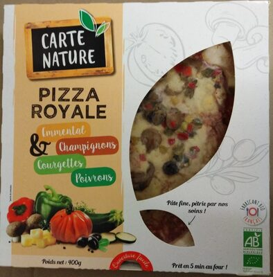 PIZZA ROYALE VEGETARIENNE - 400G