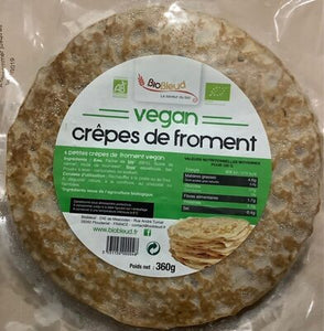 CREPES DE FROMENT VEGAN X6, DI - 360G