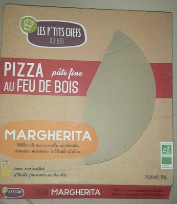 PIZZA MARGARITA 350G - 1U