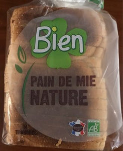 PAIN DE MIE NATURE - 0.5KG