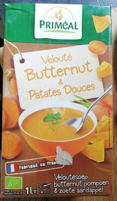 VELOUTE BUTTERNUT ET PATATE DOUCE - 0.5KG