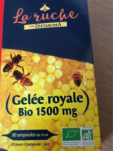 GELEE ROYALE 1500 MG AMPOULES OFFRE SPEC - 1U