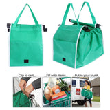 Eco-friendly Clip-To-Cart Shopping Bag