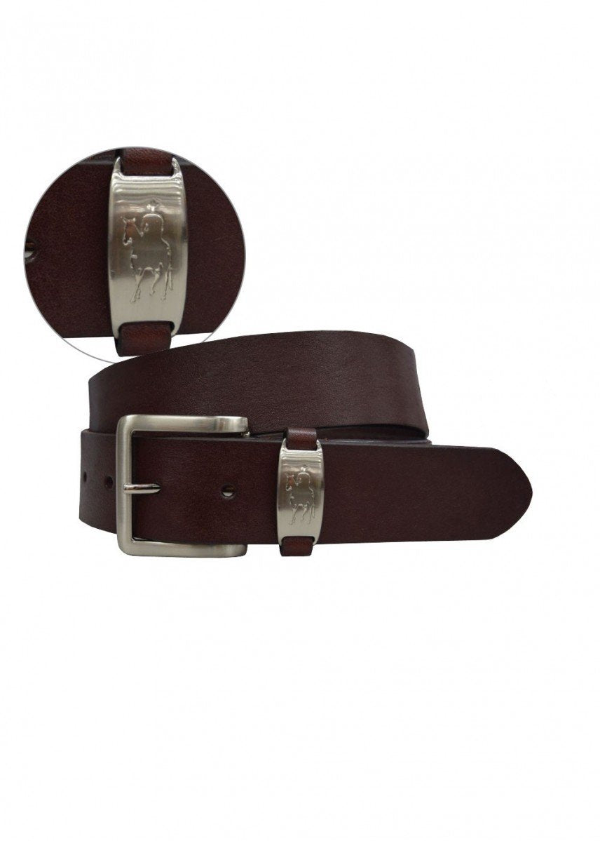 Belt Mens Horseman Badge Belt SMALL - Belt