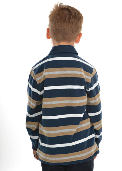 Boys Langdon Stripe Rugby - Jumpers