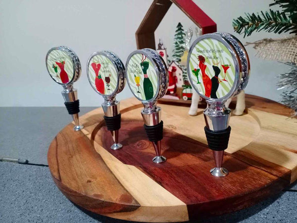 Christmas Theme Bottle Stopper - Christmas