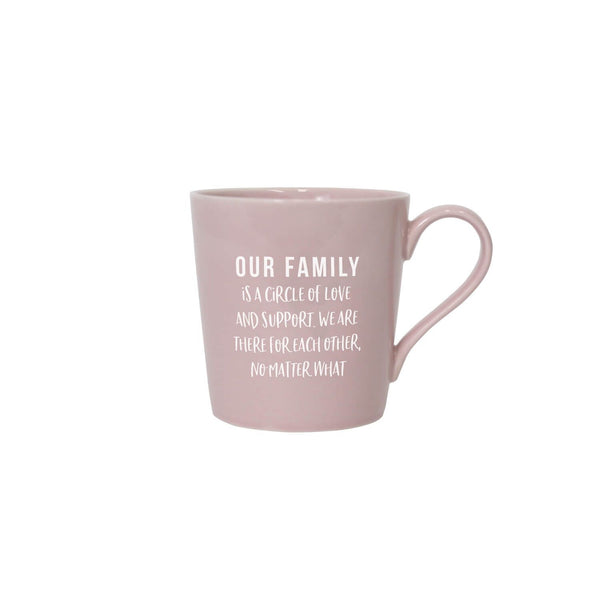 Colour Pop Mugs - Family - Gifts
