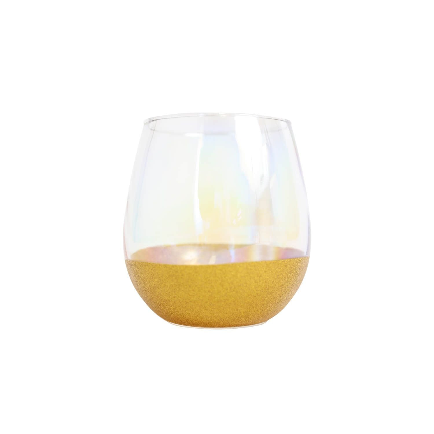 DIY Celebration Glass - Silver/Gold - Gold - Homewares