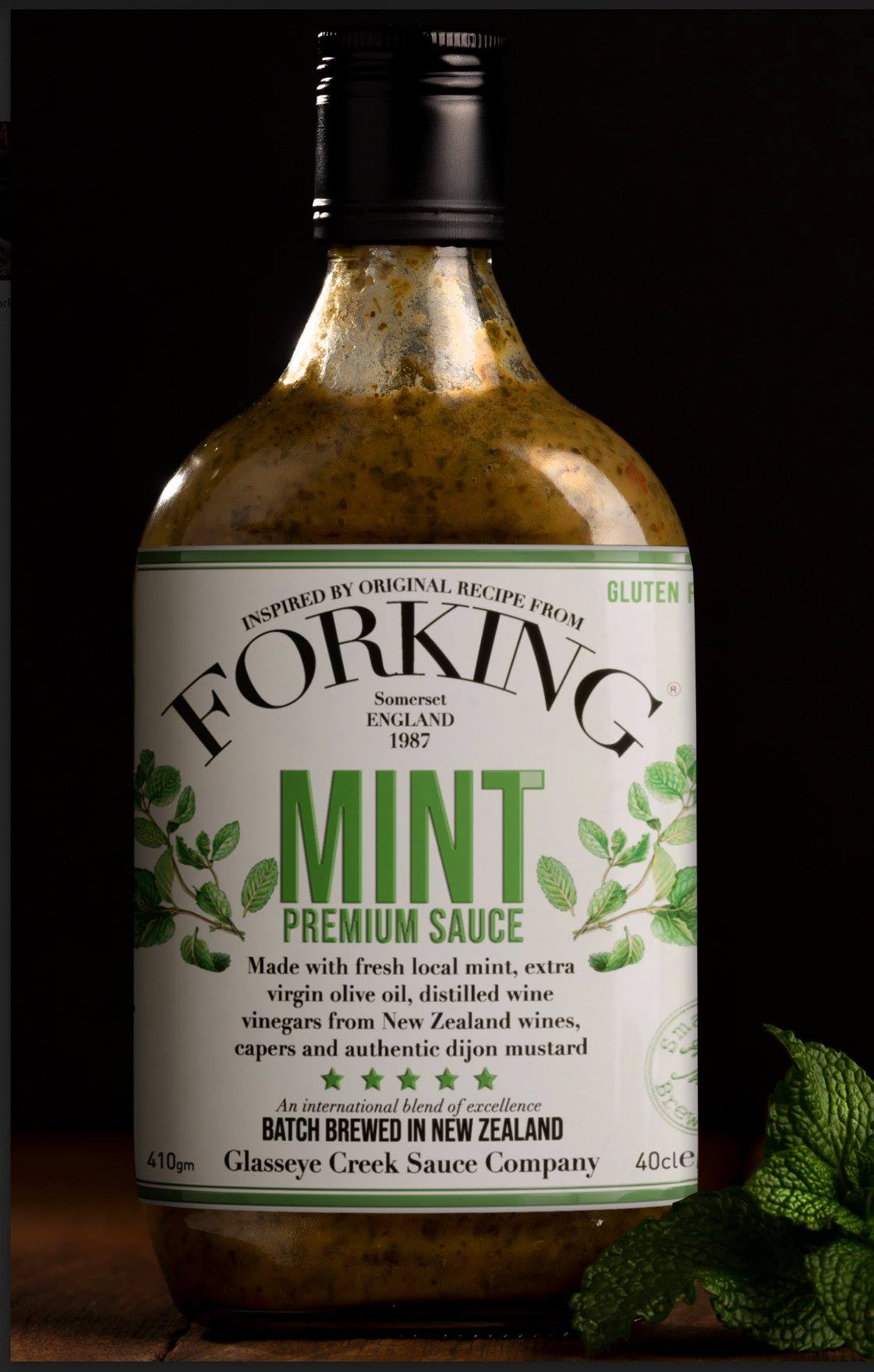 Glasseye Creek Forking Mint Sauce 400g - Pukara