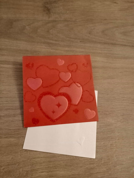 Include a Personalised Gift Card - Hearts - Cards