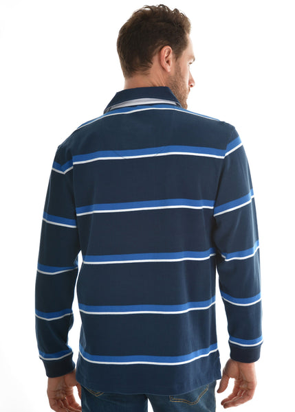 Mens Narrung Stripe Rugby - Jumpers