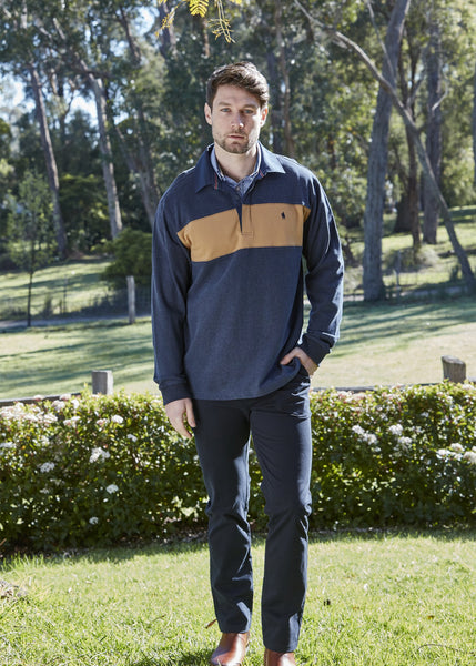Mens Shaw Panel Rugby - Jumper