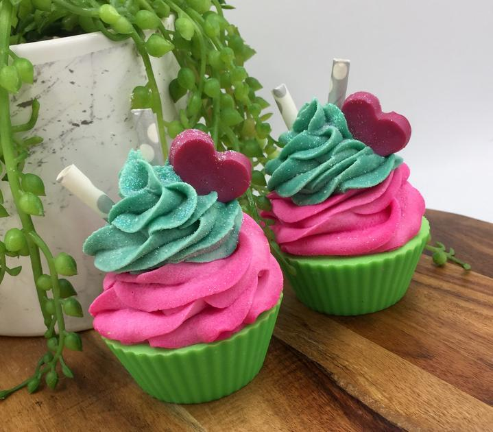 Pink Moscato Cupcakes - Handmade Artisan Soap - Soap