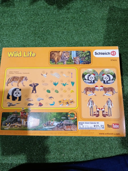 Schleich Advent Calendar Jungle - 2017 - Christmas