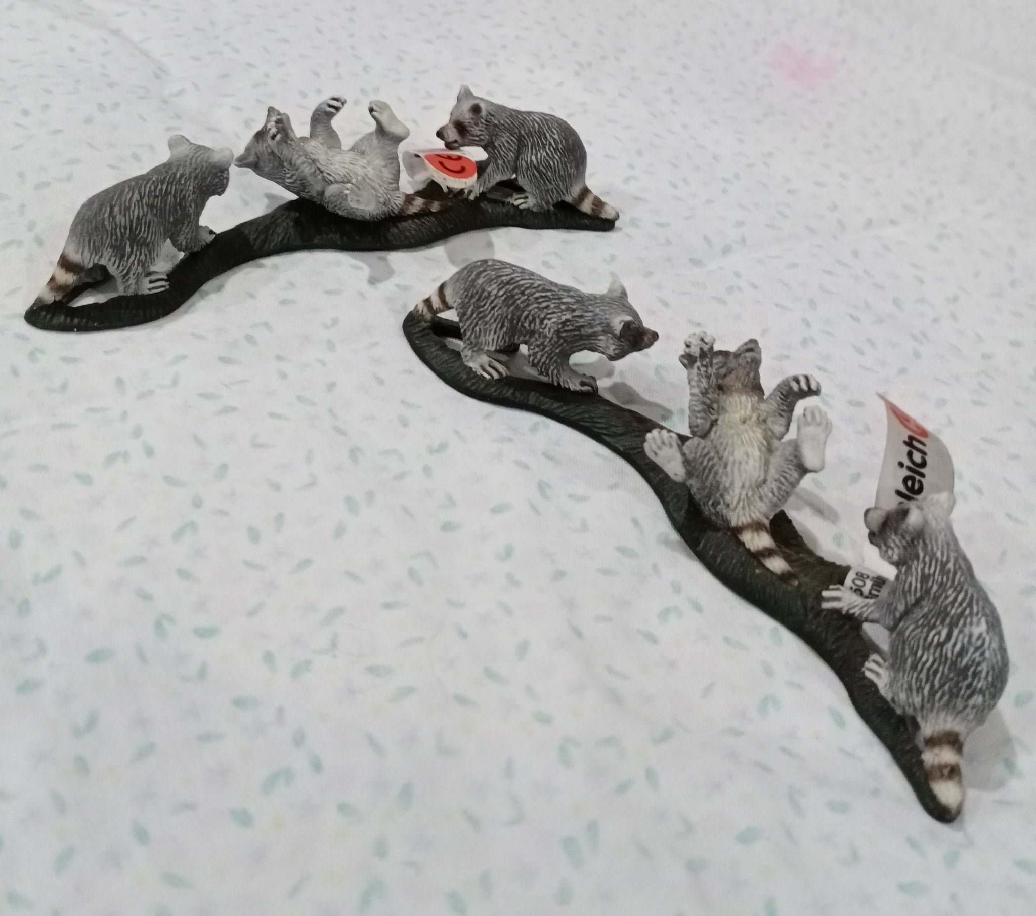 Schleich Raccoon Cubs - Toys