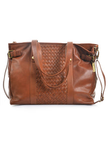 Siena Weave Tote - Thomas Cook - handbags