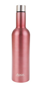 Wine Traveller Bottle Double Insulated - Rose - Homewares
