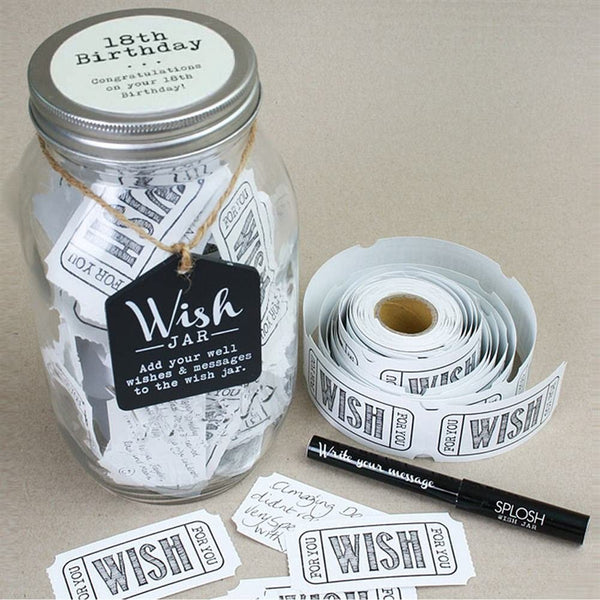 Wishes Jars Assorted - 18th Birthday - Gifts