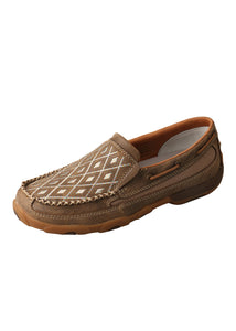 Womens Diamond Mocs Slip on - Mocs