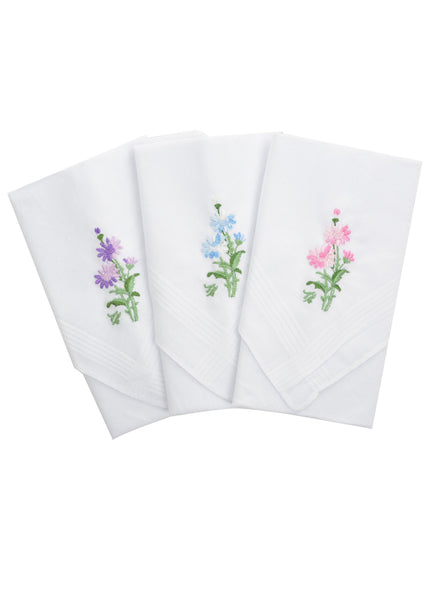 Womens Handkerchief 3pk - Womens Accessories