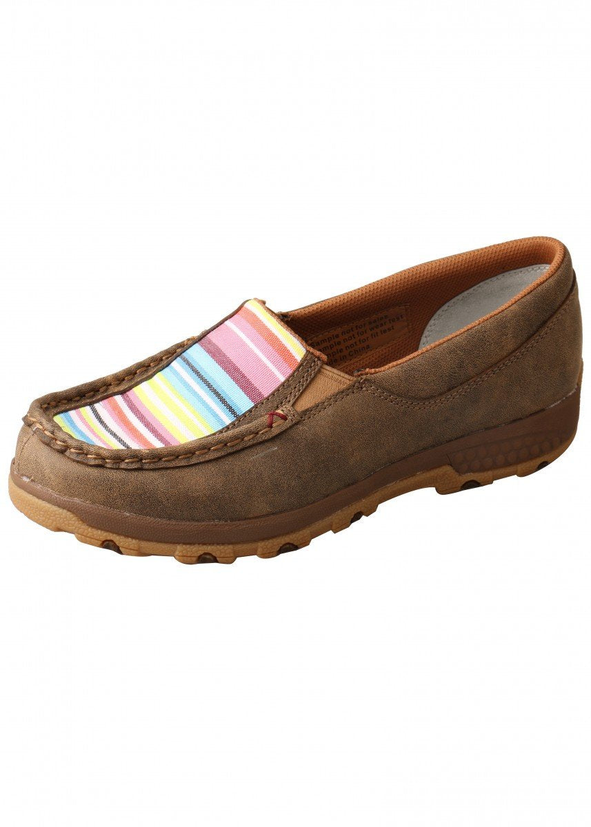 Womens Striped CellStretch Slip-on - Shoes