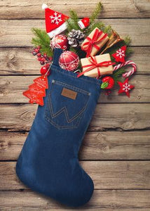 WRANGLER Christmas Stocking - Christmas