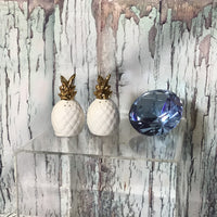 Ceramic Pineapple Salt & Pepper Set