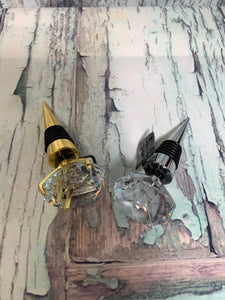 Diamond Wine Bottle Stopper