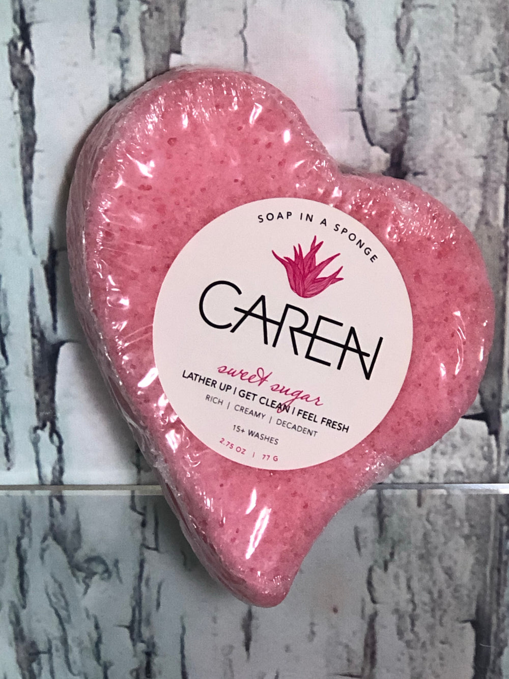 Sweet Sugar Soap in a Sponge