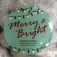 Merry & Bright Soap in a Sponge