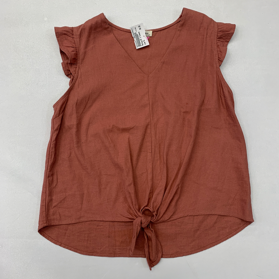 Monteau Short Sleeve Top Size Extra Large