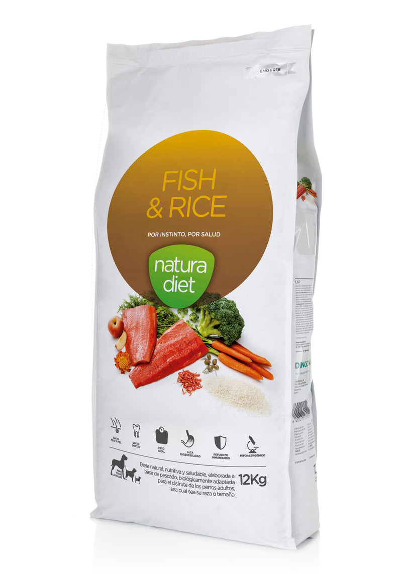 ND Fish / Rice - 12kg