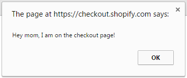 Adding JavaScript to Shopify Checkout – Freakdesign