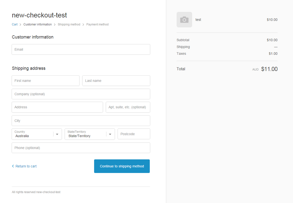 freakdesign tests the new shopify checkout