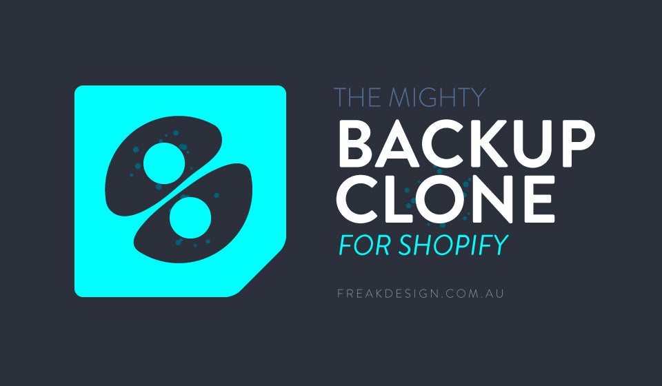 How to backup, clone or copy your Shopify store – Freakdesign