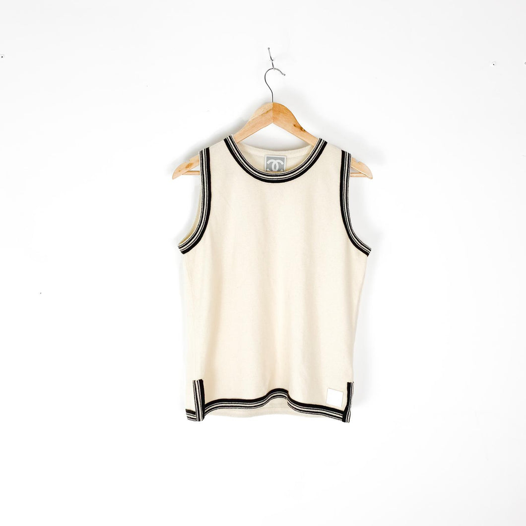 Chanel cashmere Tank Large