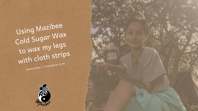 Mazibee Cold Sugar Wax for Legs