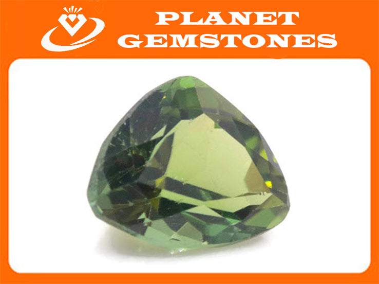 Natural Tourmaline Green Tourmaline DIY Jewelry Supply Tourmaline October birthstone Black Tourmaline Tourmaline 3.18ct 10.7x8.5x6mm-Tourmaline-Planet Gemstones