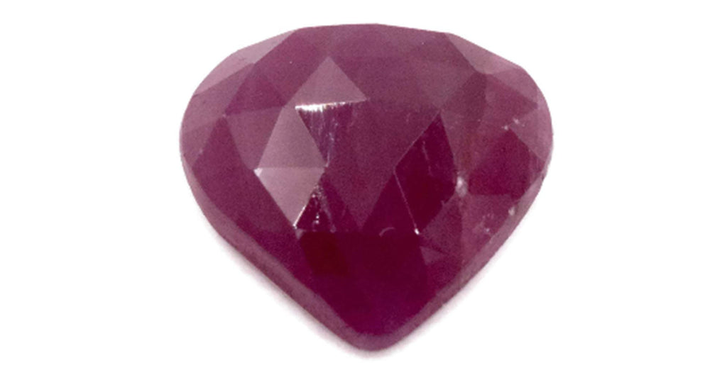 Natural Ruby DIY Jewelry Supply Ruby July Birthstone Rose Cut Ruby Gemstone Genuine Ruby 4.7ct 11.5x11.mm Ruby Rose cut-Ruby-Planet Gemstones