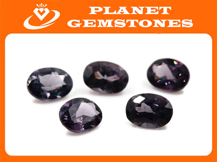 Natural Spinel Spinel Gemstone Genuine Spinel August birthstone Lavender SPINEL Purple Spinel 7x5mm Spinel Oval Spinel Loose stone 0.98ct-Planet Gemstones