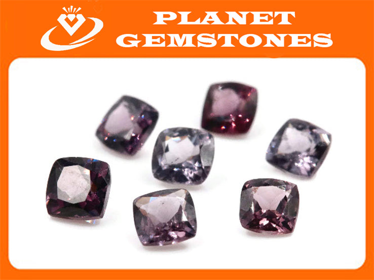 Natural Spinel Spinel Gemstone Genuine Spinel August birthstone Lavender SPINEL Purple Spinel 5mm round 0.60ct-Planet Gemstones