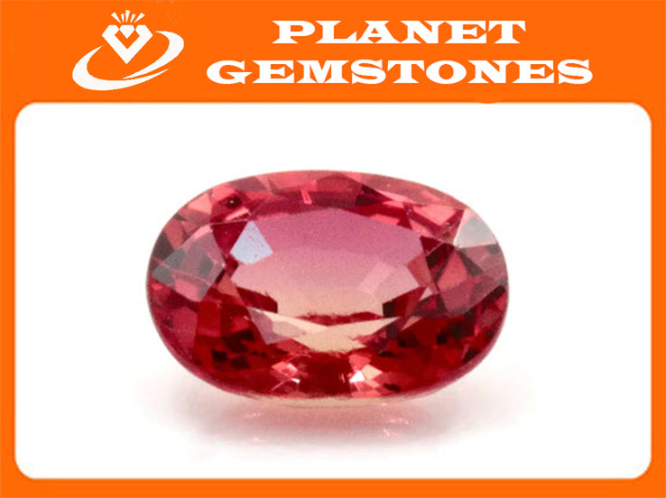 Natural Red Spinel Gemstone Genuine Spinel August birthstone Spinel Oval faceted 6.5x4.5mm Pink Spinel 1 stone 0.82ct Spinel Loose stone-Planet Gemstones