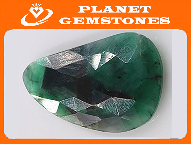Emerald Natural Emerald May Birthstone Emerald Green Diy Jewelry Diy Jewelry Supplies Emerald 23x15mm 9.46ct DIY Jewelry Supplies-Emerald-Planet Gemstones