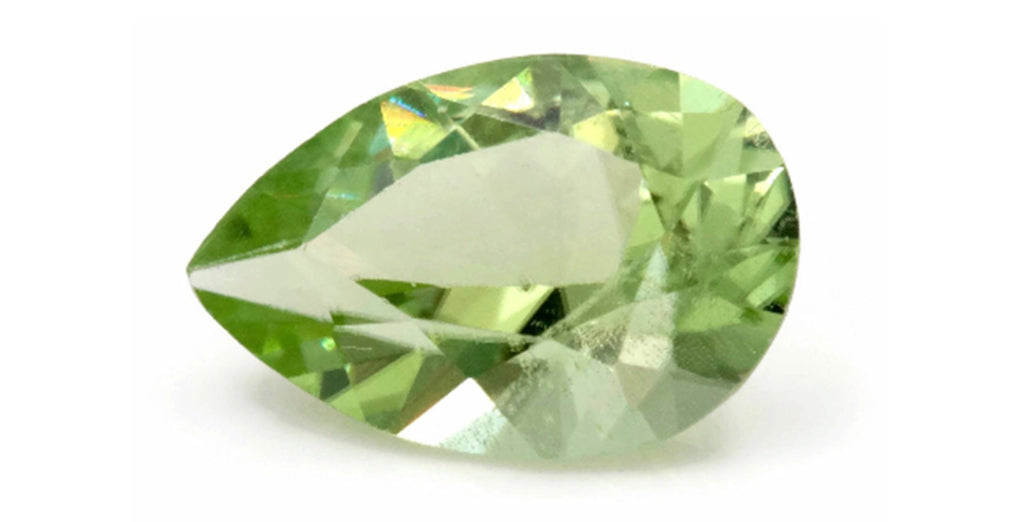 Natural Tourmaline Green Tourmaline DIY Jewelry Supply Tourmaline October birthstone Genuine Tourmaline Tourmaline 2.5 ct 11x7.4 mm-Tourmaline-Planet Gemstones