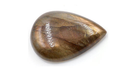 Natural Labradorite Gemstone Genuine Labradorite Labradorite Cabochon Labradorite Stone DIY Jewelry PR 27x19mm, 22ct SKU:113092-Planet Gemstones