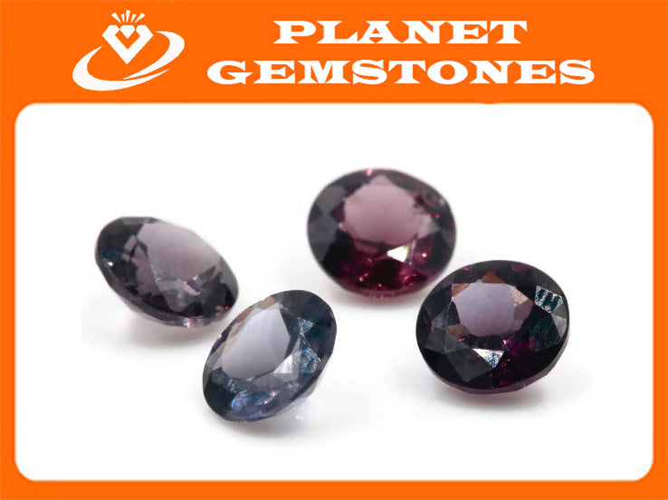 Natural Spinel Spinel Gemstone Genuine Spinel August birthstone Lavender SPINEL Purple Spinel 7mm round 1.32ct-Planet Gemstones