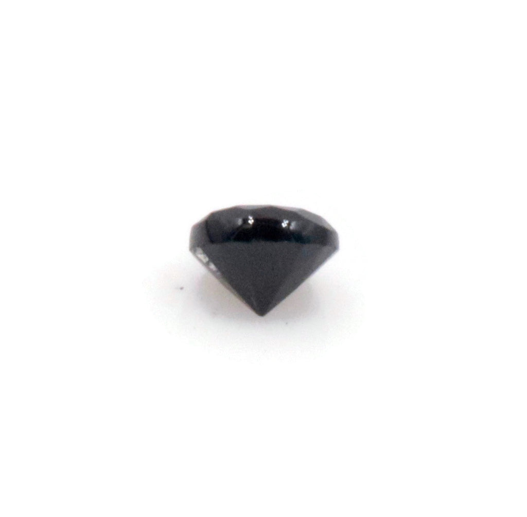 Natural Black Spinel August Birthstone Black Spinel gemstone Black Spinel MELEE, Faceted Round 12PCS SET 1.5mm 0.20cts SKU:114648-Spinel-Planet Gemstones