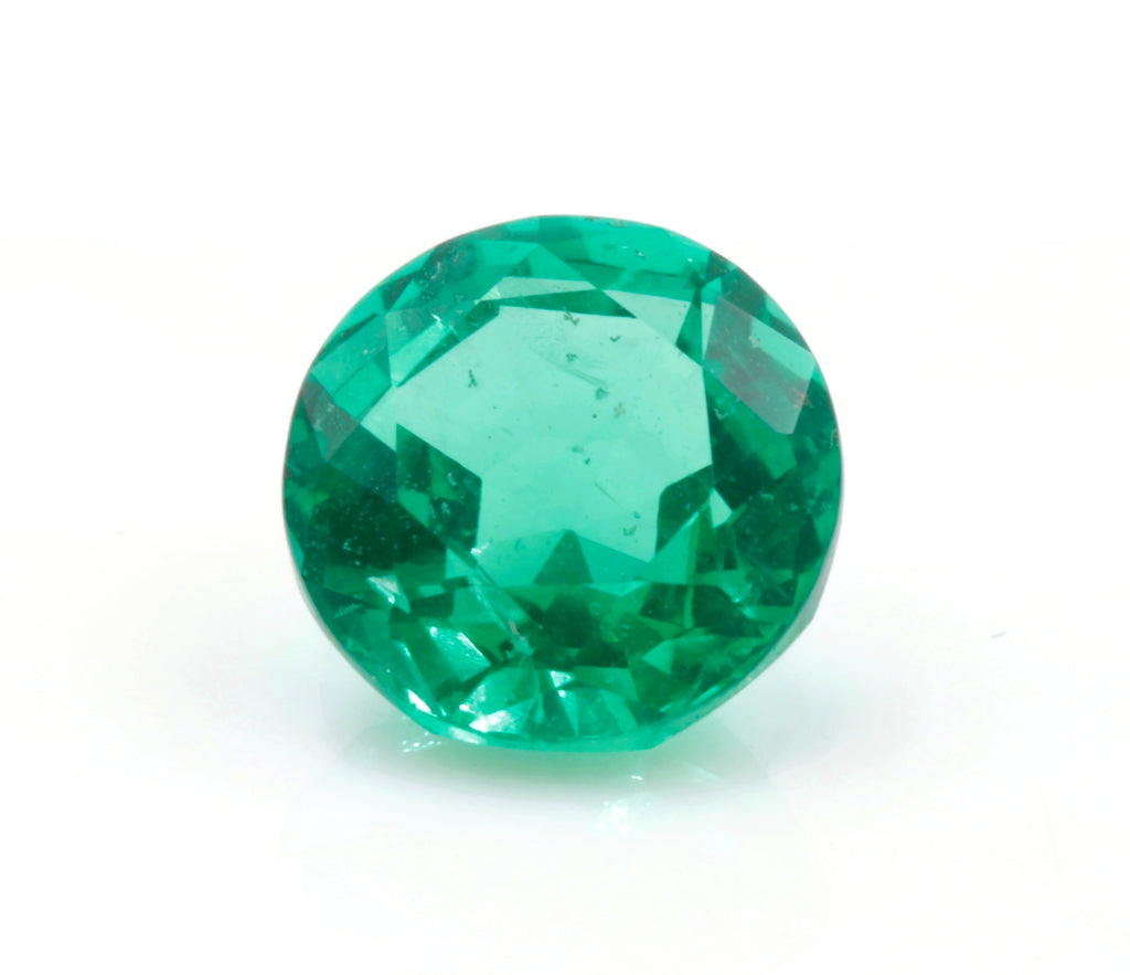 Natural Emerald Colombian Emerald May Birthstone Genuine Emerald Emerald Gemstone Emerald Green Emerald Round 6mm SKU:114542-Emerald-Planet Gemstones